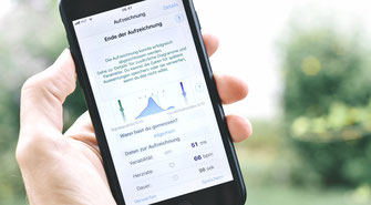 HeartBreath App HRV Messung