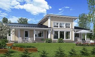 maison bois 125 m²