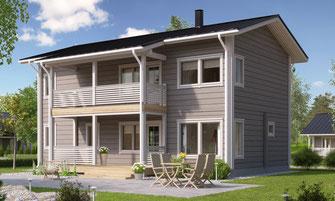 maison bois 191 m²