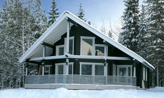 maison bois 132 m²