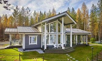 maison bois 192 m²
