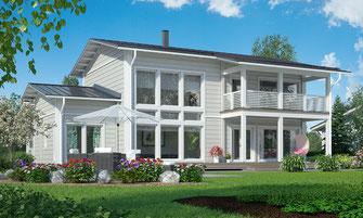 maison bois 210 m²