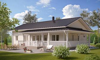 maison bois 156 m²