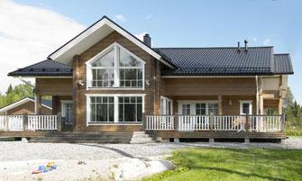 maison bois 221 m²