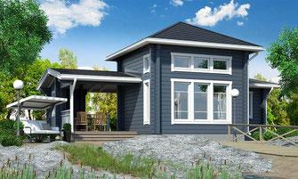 maison bois 77 m²