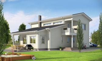 maison bois 180 m²