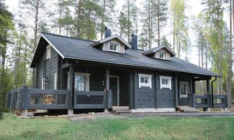 maison bois 110 m²  deux appartements