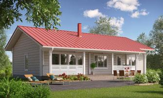 maison bois 123 m²