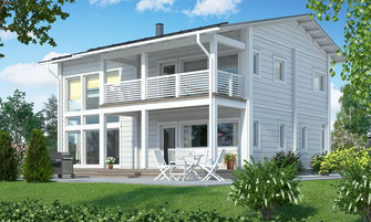 maison bois 190 m²
