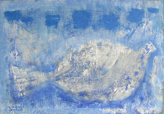 Song of Bird 15.8×22.7cm Oil on canvas