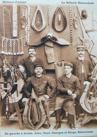 Ouvriers de la Sellerie Rémoulade (http://hippotese.free.fr/)