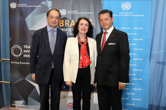 Ernst Peter Brezovszky Ministry of Foreign Affairs, Olga Memeodivc UNIDO, Gerhard Hrebicek European Brand Institute