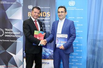 Gerhard Hrebicek European Brand Institute, Farrukh Alimdjanov UNIDO