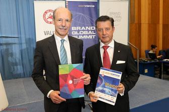 Philippe Scholtes UNIDO; Gerhard Hrebicek European Brand Institute