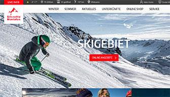 Zur website der Silvretta Montafon