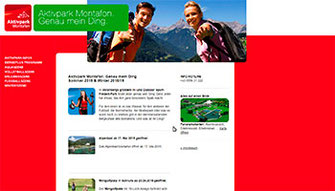 Zur website des Aktivparks Montafon