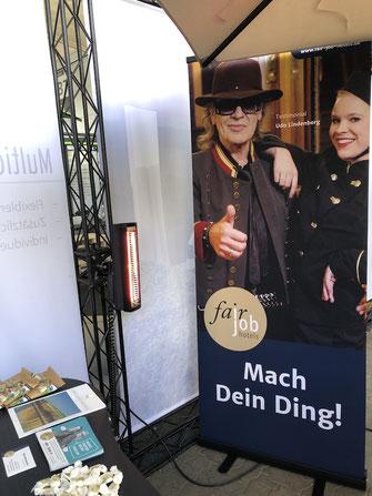 TANSUN Heizstrahler für Promotion-Stand