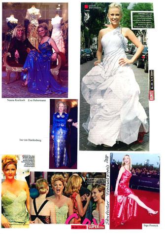 prominente Damen gekleidet in Nanna Kuckuck