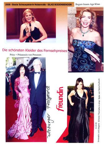 Hollywood Abendkleider - Nanna Kuckuck, exklusive Abendkleider ...