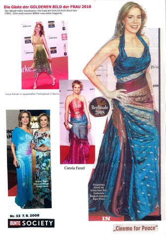 celebrities in dresses of Nanna Kuckuck