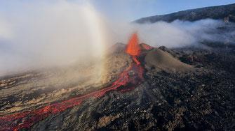 Valorisation photos et vidéos par drone à l'ile de la Réunion