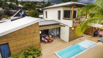 Promotion photos et vidéos par drone à l'ile de la Réunion