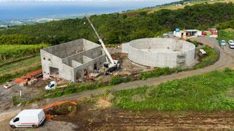Prestation drone chantier BTP à la Réunion