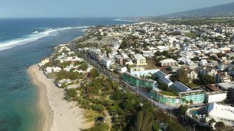 Prestation drone architecture à la Réunion