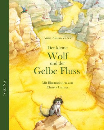 Buchcover - Der kleine Wolf und der Gelbe Fluss