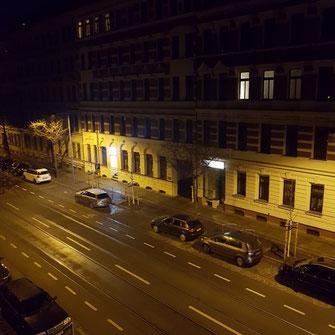 Lichtverschmutzung in Leipzig