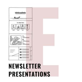 Newsletter Presentations