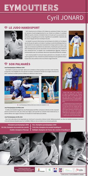 sport cyril jonard eymoutiers judo handisport champion paralympique JO athènes 2004 pékin 2008 rio 2016 champion du monde handisport champion d'europe champion de france teddy riner Pah Pays d'art et d'histoire monts et barrages patrimoine XXème siècle