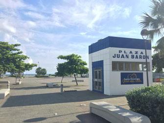Dom Rep, Dominikanische Republik, Santo Domingo, Promenade, Malecon, Ufer, Plaza Juan Baron