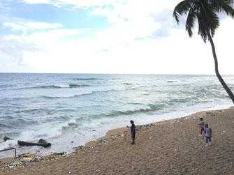 Dom Rep, Dominikanische Republik, Santo Domingo, Promenade, Malecon, Ufer,