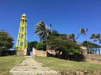 Puerto Plata, Lighthouse, Leuchtturm, Dom Rep, Dominikanische Republik, Puerto Plata, Burg, Fortaleza San Felipe