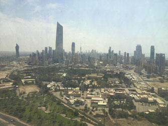 Kuwait, Kuwait, Towers, Golf Road, Aussicht,  Reisebericht, Reiseblog, Sehenswürdigkeiten, Attraktion, Kuwait, Towers, Towers, Skyline, Aussicht, Al-Tarija, Al Hamra