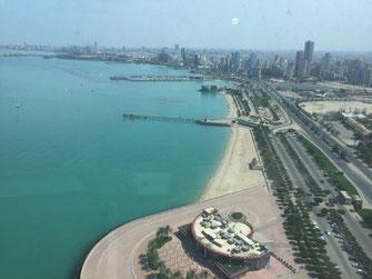Kuwait, Towers, Golf Road, Aussicht,  Reisebericht, Reiseblog, Sehenswürdigkeiten, Attraktion, Kuwait, Towers,