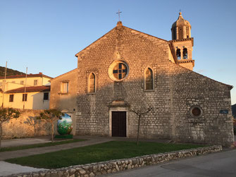 Kroatien, Segeln, Segeltörn,Cres, Kirche, Reisebericht, Reiseblog