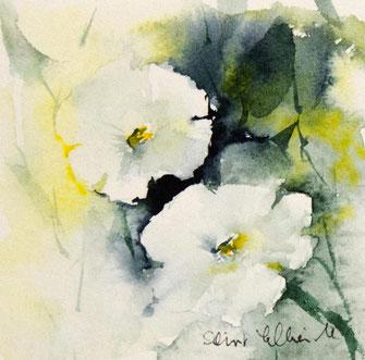 Aquarelles florales