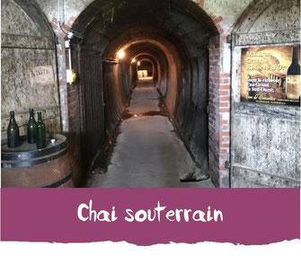 Chai souterrain Tourisme Nord Béarn Madiran