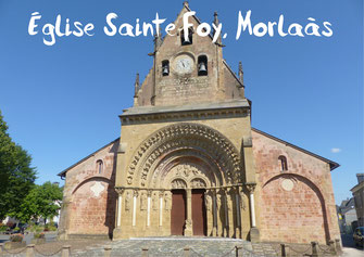 Eglise Sainte-Foy Morlaàs tourisme Nord Béarn Madiran