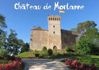 Château de Morlanne tourisme Nord Béarn Madiran
