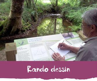 Rando dessin - Tourisme Nord Béarn Madiran