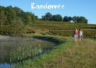 Randonnée pédestre tourisme Nord Béarn Madiran