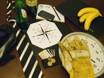 Bild zum Baustein Selbstmanagement im Azubi Training Fit for Job, Tools wie Uhr, Kompass und Co