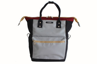 7clouds Fobis 7.1 grey black backpack