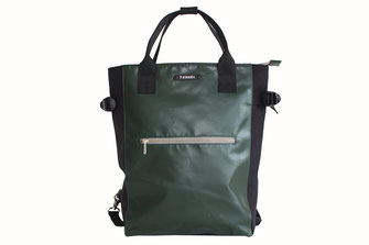 Styler Shopper Rucksack Mendo jungle green von 7clouds