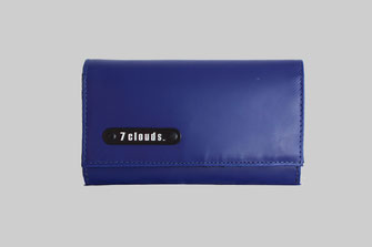 large wallet Kemp from 7clouds in navi blue
