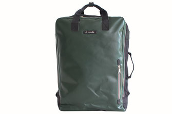 7clouds Agal 7.1 junglegreen backpack cabin baggage