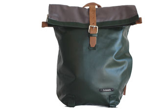 7clouds Rucksack roolltop jungle green